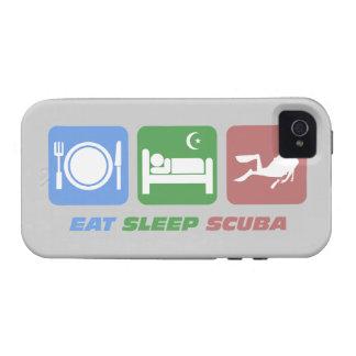 essen Sie Schlaf-Unterwasseratemgerät Vibe iPhone 4 Cover