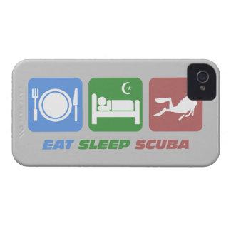 essen Sie Schlaf-Unterwasseratemgerät iPhone 4 Hülle