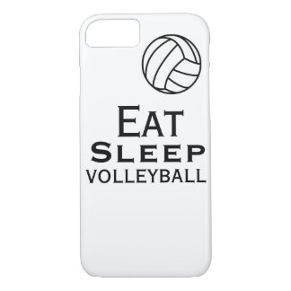 Essen Sie. Schlaf. Volleyball-Fall iPhone 8/7 Hülle