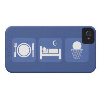 essen Sie Schlafbasketball Case-Mate iPhone 4 Hülle