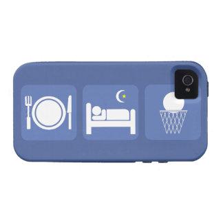 essen Sie Schlafbasketball iPhone 4/4S Hüllen