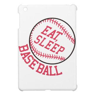 Essen Sie, schlafen Sie, Baseball iPad Mini Hülle