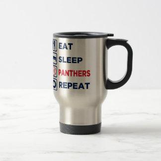 essen Sie, schlafen Sie, Panther, Wiederholung Reisebecher
