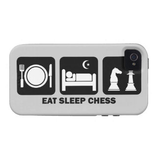 essen Sie Schlafschach Case-Mate iPhone 4 Cover