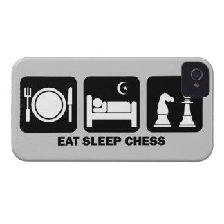essen Sie Schlafschach iPhone 4 Case-Mate Hüllen