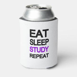 Essen Sie Schlafstudienwiederholung Dosenkühler