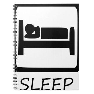 ESSEN SIE SLEEP7 NOTIZBLOCK