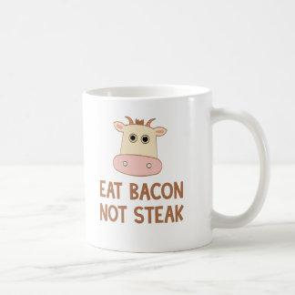 Essen Sie Speck-nicht Steak Kaffeetasse