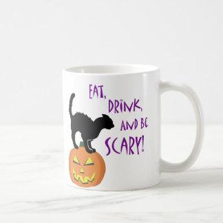 Essen Sie, trinken Sie, und seien Sie Kaffeetasse