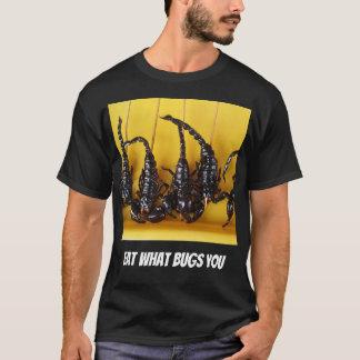 Essen Sie, welche Wanzen Sie T-Shirt