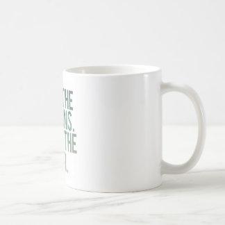 Essen Sie Yo Grüntöne! Kaffeetasse