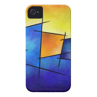 Esseniumos V1 - quadratisches abstraktes iPhone 4 Hüllen