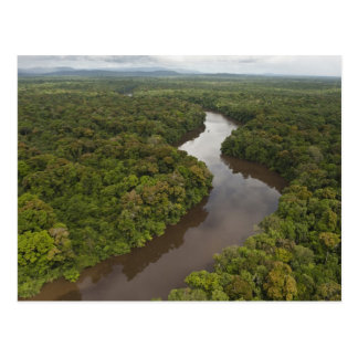 Essequibo Fluss, längster Fluss in Guyana und 5 Postkarte