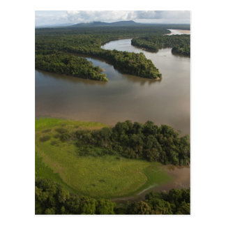 Essequibo Fluss, längster Fluss in Guyana und Postkarte
