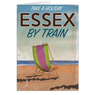 Essex, BRITISCHES Vintages Reiseplakat Karte