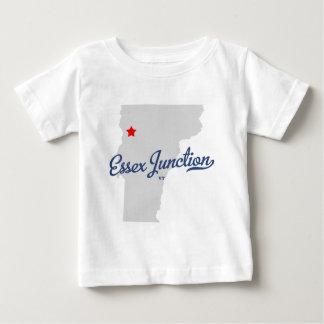 Essex-Kreuzungs-Vermont VT-Shirt Baby T-shirt