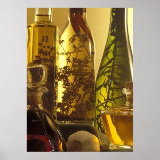 Essig-Flaschen Plakate