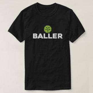 (Essiggurke) Baller dunkles Pickleball Shirt