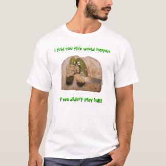 Essiggurken-Comic-Essiggurken und Brot-Shirt T-Shirt