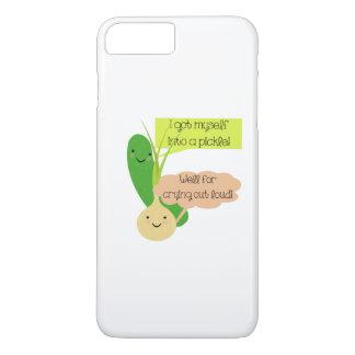 Essiggurken-und Zwiebel-Spaß iPhone 8 Plus/7 Plus Hülle