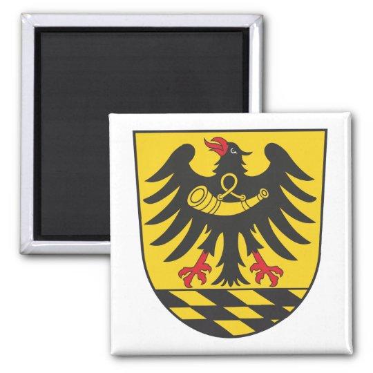 Esslingen Landkreis Quadratischer Magnet