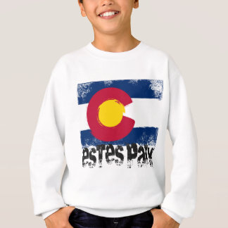 Estes Park-Schmutz-Flagge Sweatshirt