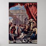 Esther vor dem persischen König Ahasuerus By Ricci Plakatdruck