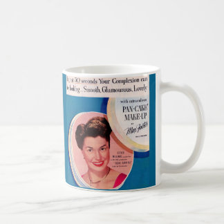 Esther Williams-Make-upanzeige 1951 Kaffeetasse