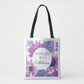 Estheticiangeschenk-Taschentasche 2 der Welt beste Tasche
