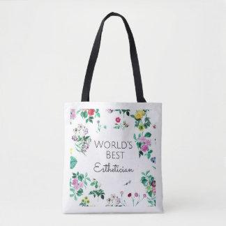 Estheticiangeschenk-Taschentasche der Welt beste