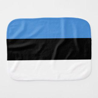 Estland-Flagge Baby Spucktuch