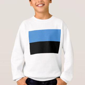 Estland-Flagge ganz über Entwurf Sweatshirt