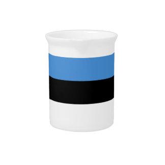 Estland-Flagge Krug