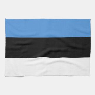 Estland-Flagge Küchentuch