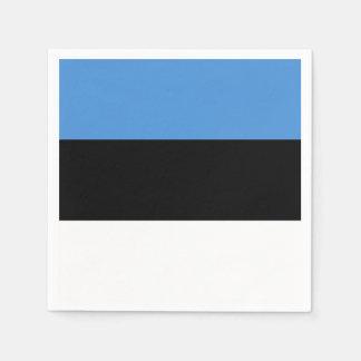 Estland-Flagge Serviette