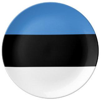 Estland-Flagge Teller