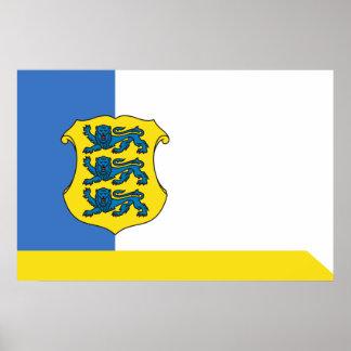 Estland - Generalmajor, Estland Plakatdruck