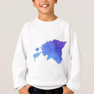 Estland-Karte Sweatshirt