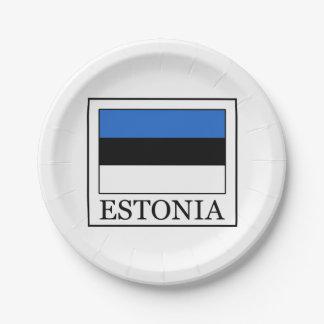 Estland Pappteller
