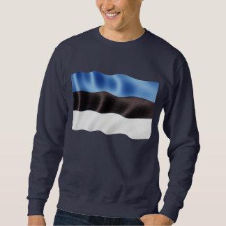 Estland-Wellenartig bewegen Sweatshirt