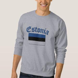 Estnische Flagge Sweatshirt