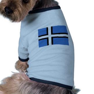 Estnischer alternativer Antrag Estland-Flagge Haustierbekleidung