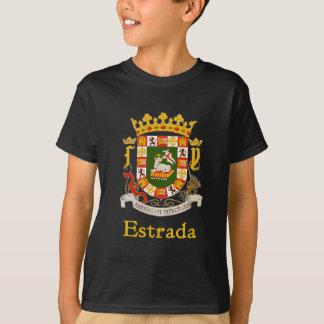 Estrada-Schild von Puerto Rico T-Shirt