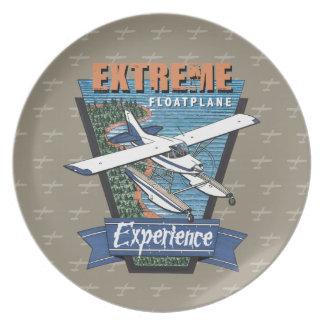 Estreme Floatplane Erfahrung Melaminteller