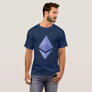 Ethererum (ETH) Cryptocurrency Blau-T - Shirt