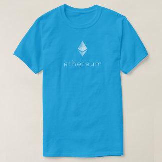 Ethereum (ETH) Blockchain Weiß-Grafik T-Shirt