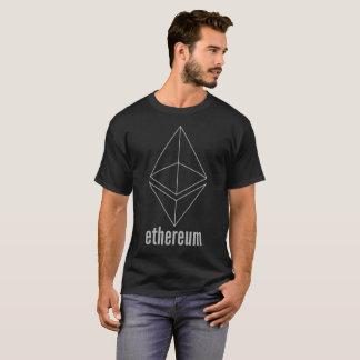 Ethereum ETH Raum grauer Cryptocurrency T - Shirt