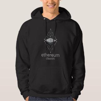 Ethereum Klassiker gemacht vom Silber Hoodie