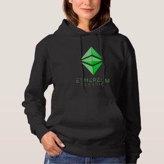 Ethereum klassisches einfaches (Grün) Hoodie