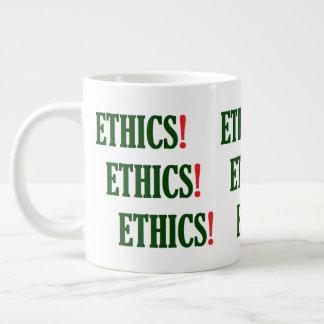 """""""Ethik! Ethik! Ethik! """" Jumbo-Tasse"""